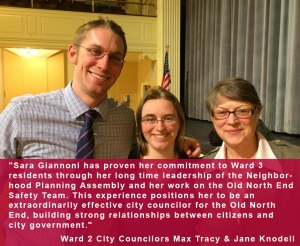 Endorsement from Max Tracy and Jane Knodell