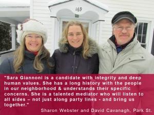 sharon and david endorsement